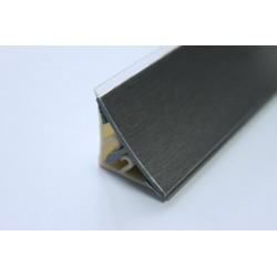 Водобрана лайсна ПВЦ с алуминиево фолио 415 инокс
