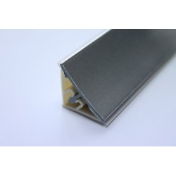 Водобрана лайсна ПВЦ с алуминиево фолио 415 полу гланц