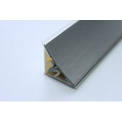 Водобрана лайсна ПВЦ с алуминиево фолио 415 алумин надраскан