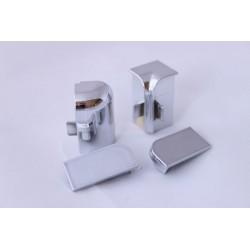 Комплект тапи и ъгли за 211 инокс вертикален мантаж
