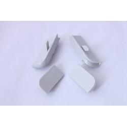 Комплект тапи и ъгли за 211 сиви хоризонтален монтаж