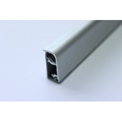 Водобрана лайсна алуминиева 211 надраскан алуминий