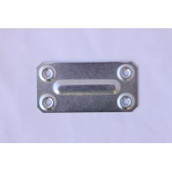 Метална планка 70Х35Х1.0 цинк