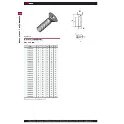 Болт М6 плоска глава цинк HEX-4