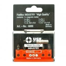 Комплект FLATBOX 6 бита и магнитен държател USH