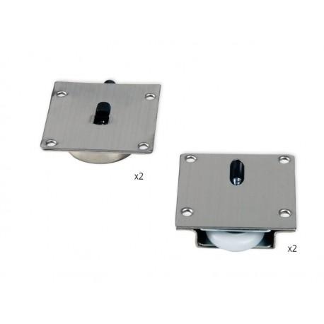Механизъм за плъзгаща врата GLIDER 2 EMUCA к-т за една врата до 40кг