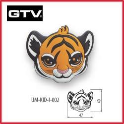 Детска мебелна дръжка гумирана тигър обезопасена GTV