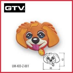 Детска мебелна дръжка гумирана куче обезопасена GTV