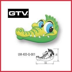 Детска мебелна дръжка гумирана крокодил обезопасена GTV