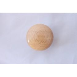 Дървена мебелна дръжка лакирана ТОБИ D01-40 бук