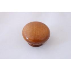 Дървена мебелна дръжка лакирана ТОБИ D01-40 байцван бук
