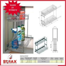 S2213 Кошница за препарати с плавно прибиране STARAX
