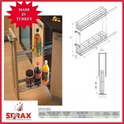 S2211 Кошница за бутилки с плавно прибиране STARAX