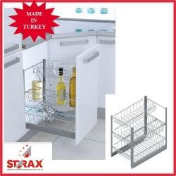 S2120 Изтегляща се кошница със сепаратор STARAX