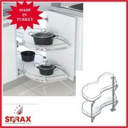 S3013 Изтегляща се система за сляп ъгъл овална STARAX