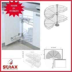 S3011 1/2 Въртяща се кошница ф740 с тръба STARAX