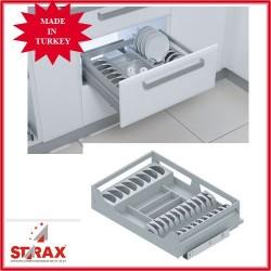 S2733 Алуминиево чекмедже с прегради за чинии STARAX