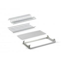 Отцедник за вграждане EMUCA две нива и алуминиева рамка