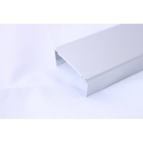 П-образен алуминиев кант за чело на плот 38мм