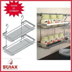 S4006 Поставка висяща за подправки два големи рафта STARAX