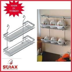 S4005 Поставка за подправки два малки рафта STARAX