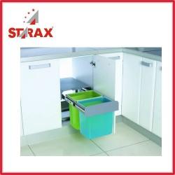 S2256 Кошче за боклук за вграждане изтеглящо се STARAX