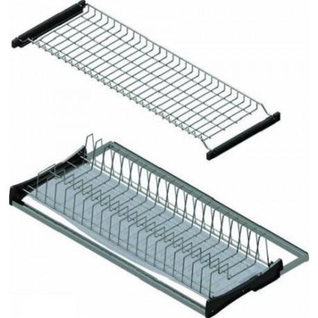 S5159/5305 Отцедник за вграждане две нива с алуминиева рамка и тавичка STARAX
