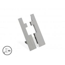 Монтажен елемент h204мм за профил за вътрешно чекмедже за VANTAGE