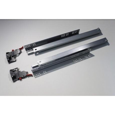Тандемен механизъм за чекмедже 350-500мм 3D реглаж с пълно изтегляне и плавно прибиране MEATON
