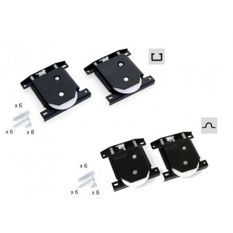 6108120 Механизъм за плъзгаща врата долни ролки  PLACARD EMUCA