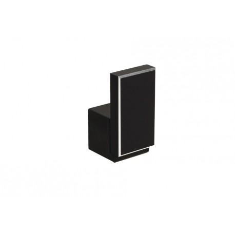 WP 48 Мебелна закачалка черна с алуминиев кант GAMET