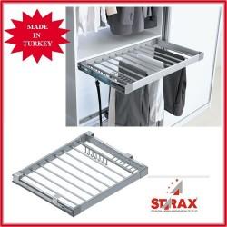 S6205 Алуминиев механизъм за панталони,колани и вратовръзки пълно изтегляне STARAX