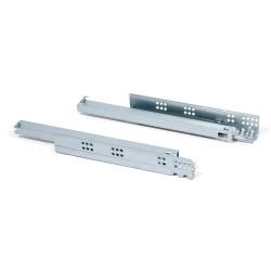 Тандемен механизъм за чекмедже 300-500мм скрит монтаж с пълно изтегляне и плавно прибиране за 18мм EMUCA