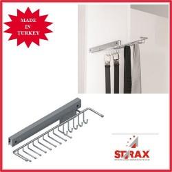 S6057 Изт.се закачалка за вратовръзки и колани дясна STARAX