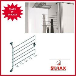 S6054 Закачалка за вратовръзки и колани STARAX