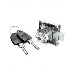 Мебелна брава квадратна 138 със секретен ключ